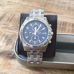 Men's watch silver